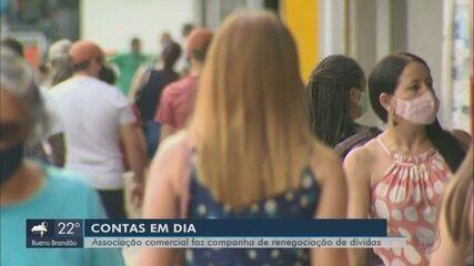 Campanha busca renegociar dívidas de consumidores em Pouso Alegre