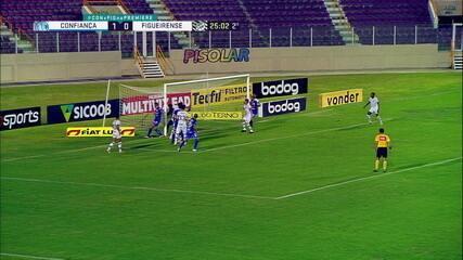 Melhores momentos: Confiança 1 x 1 Figueirense, pela 25ª rodada do Brasileirão Série B