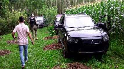 Polícia busca por criminosos que assaltaram banco em Criciúma