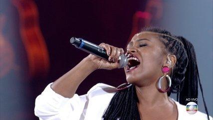 Carla Sceno canta 'Ain´t No Other Man' na Rodada de Fogo
