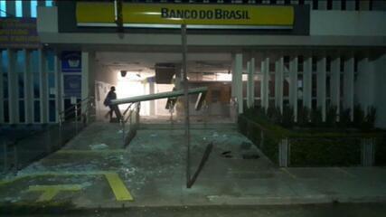 Imagens mostram ação de bandidos em Cametá (PA)