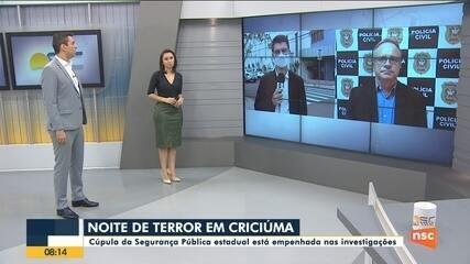 Diretor da Deic fala sobre as investigações do assalto em Criciúma