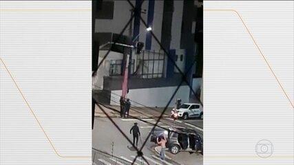 Polícia catarinensa segue em busca dos criminosos que levaram terror a Criciúma-SC