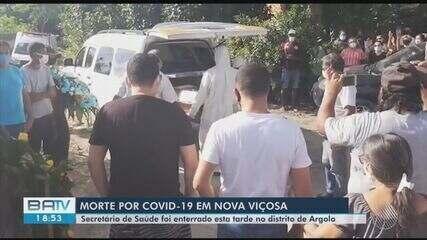 Secretário de saúde de Nova Viçosa, vítima da Covid-19, é enterrado na Bahia