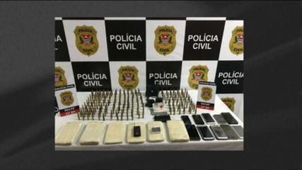 Polícia prende 6 suspeitos de envolvimento a assalto a banco em Criciúma (SC)