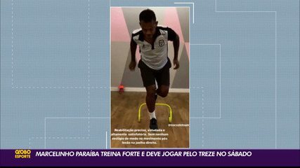 Marcelinho Paraíba tem treinado forte para poder atuar no Clássico Tradição deste sábado