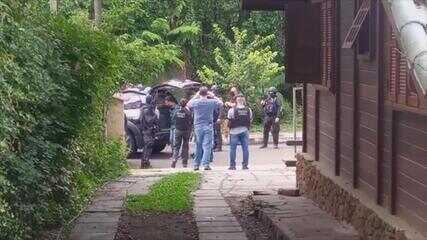 Polícia prende suspeito de assalto em Criciúma em casa alugada em Gramado
