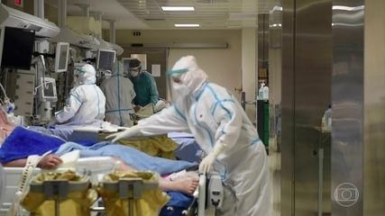 OMS alerta que a pandemia na Europa está longe de ser controlada