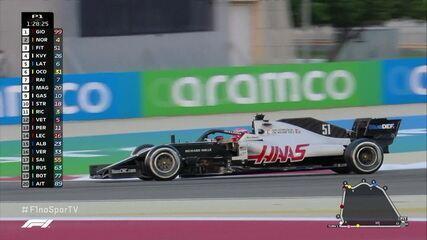 Pietro Fittipaldi entra na pista em primeiro treino do GP de Sakhir