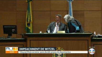 Tribunal Especial Misto define quais provas serão aceitas no julgamento do processo de impeachment de Witzel