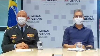 'Tudo que é possível fazer está sendo feito', afirma Romeu Zema sobre acidente em Minas