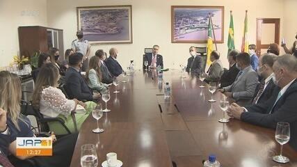 Presidente do TSE, ministro Roberto Barroso acompanha preparativos da eleição em Macapá