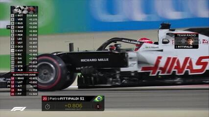 Confira os momentos finais do Q1 do GP de Sakhir de Fórmula 1