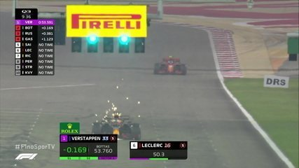 Verstappen faz melhor tempo no início do Q3 do GP de Sakhir
