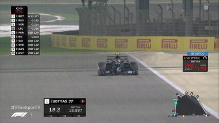 Valteri Bottas é o pole position do GP de Sakhir de Fórmula 1