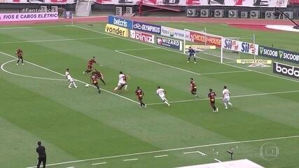 Gols do Fantástico: São Paulo bate o Sport e abre vantagem na liderança