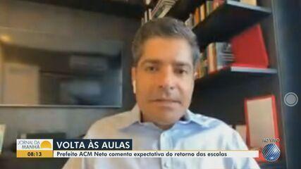 ACM Neto fala sobre reforço das medidas contra a Covid-19 em Salvador