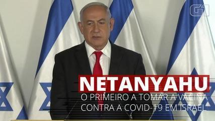 Benjamin Netanyahu será o primeiro a tomar a vacina contra a Covid-19 em Israel