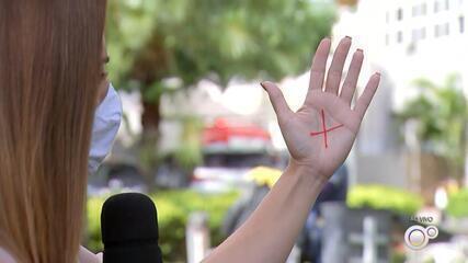 Hospital de Base de Rio Preto participa de campanha que denuncia violência contra a mulher