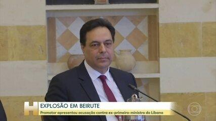 Ex-primeiro-ministro do Líbano é acusado formalmente de negligência em explosão em Beirute