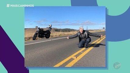 Conheça a psicóloga que viaja o mundo de moto e incentiva outras mulheres