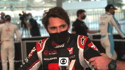 """Pietro Fittipaldi: """"Pena que não deu para acelerar na segunda e terceira saídas"""""""