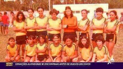 Gerações do futebol feminino do Ceará se encontram