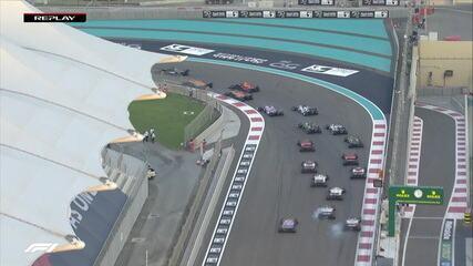 Assista ao replay do início de Abu Dhabi