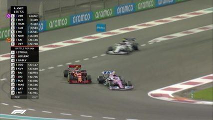 Passeio finalmente passa Leclerc no GP de Abu Dhabi