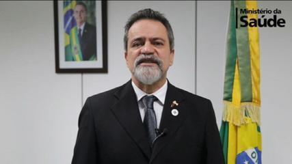 Elcio Franco sobre vacinação contra Covid: 'É irresponsável especificar data de início'