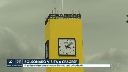 Inaugurada torre do relógio na Ceagesp