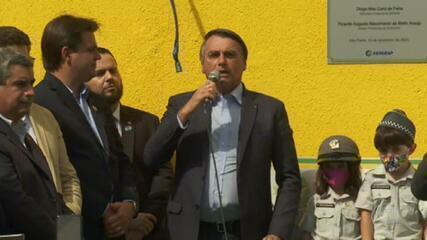 Bolsonaro diz que espera aprovar excludente de ilicitude após eleição no Congresso