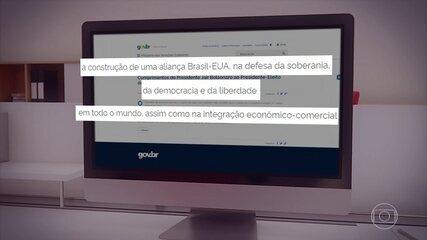 Em 2020, Bolsonaro levou 38 dias para reconhecer vitória de Biden sobre Trump; relembre