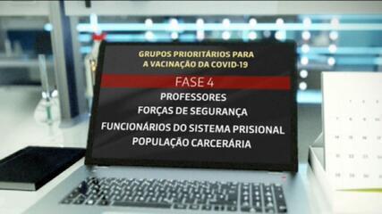Governo informa que vacinação começará 5 dias após aval da Anvisa