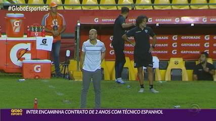 Inter encaminha contrato de dois anos com o técnico Miguel Ángel Ramírez