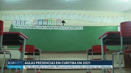 Pais vão escolher se mandam ou não filhos para as escolas na rede municipal de Curitiba