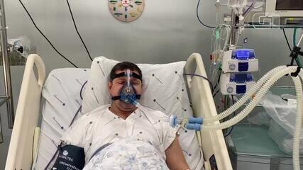 Vídeo mostra governador de Rondônia, Marcos Rocha, em hospital com Covid-19
