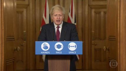 Variação do novo coronavírus leva o governo do Reino Unido a endurecer restrições