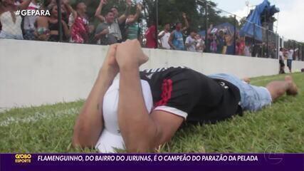 Flamenguinho, do Jurunas, é o campeão do Parazão da Pelada 2020