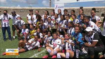 Botafogo-PB goleia o Auto Esporte e é campeão do Campeonato Paraibano Feminino