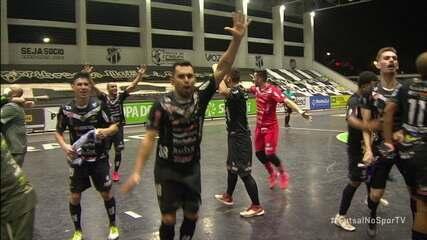 Os gols de Ceará 2 x 2 Dois Vizinhos pela Copa Brasil de Futsal 2020