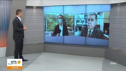 Governador Carlos Moisés fala sobre decisão de justiça que revoga flexibilizações