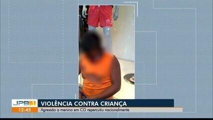 Criança é agredida enquanto vendia balas em restaurante de Campina Grande