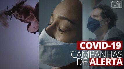 Governos lançam campanhas impactantes para alertar sobre riscos da Covid-19