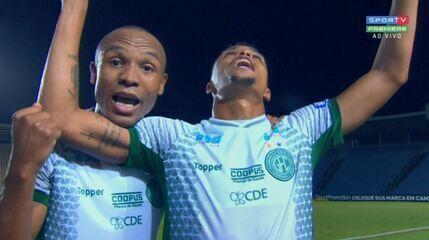 O Guarani não vencia desde a 31ª rodada da Série B: veja o gol contra o Sampaio Corrêa