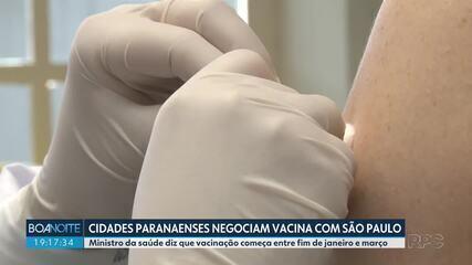 Paranaenses recebem vacina contra Covid nos EUA