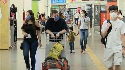 Brasil suspende chegada de voos vindos do Reino Unido por causa de variante do coronavírus