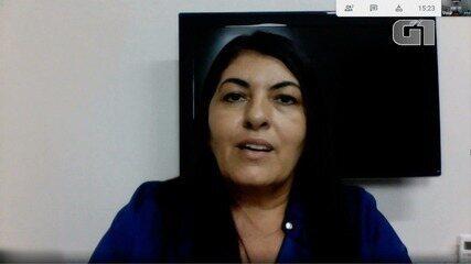 Prefeita explicou projetos e pensamentos voltados à área esportiva