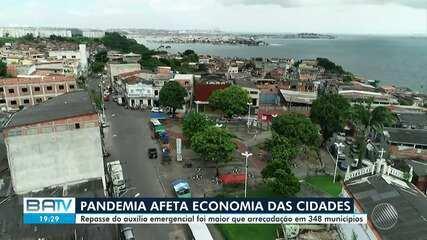 Pandemia afeta arrecadação tributária dos municípios baianos