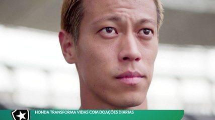 Honda transforma vidas com doações diárias